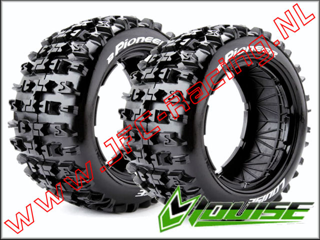 LR-T 32431, Louise RC B-PIONEER 1-5 Buggy Tires (Sport)(Rear)(170 x 80mm) 2st.