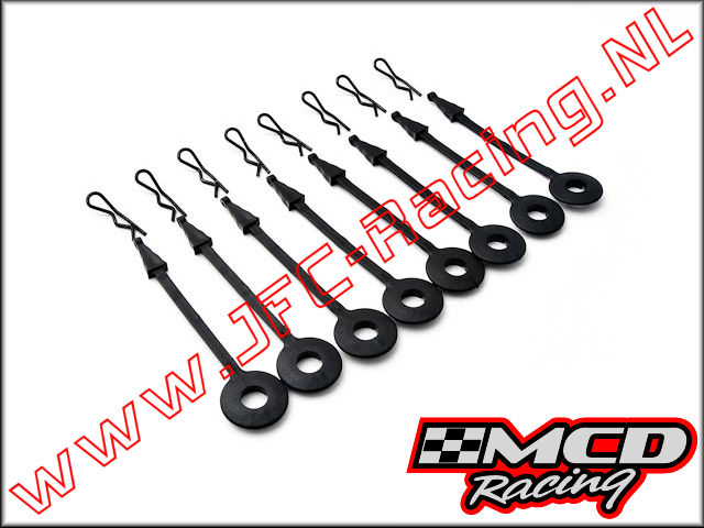 M130801S0, New Body Mount Clips 8pcs.