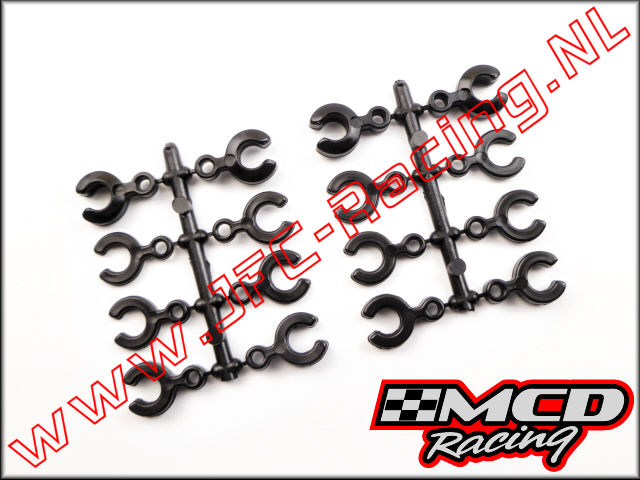 M301101P, Wheelbase Adjustment Y-Clips 6.5-7 mm 16st.