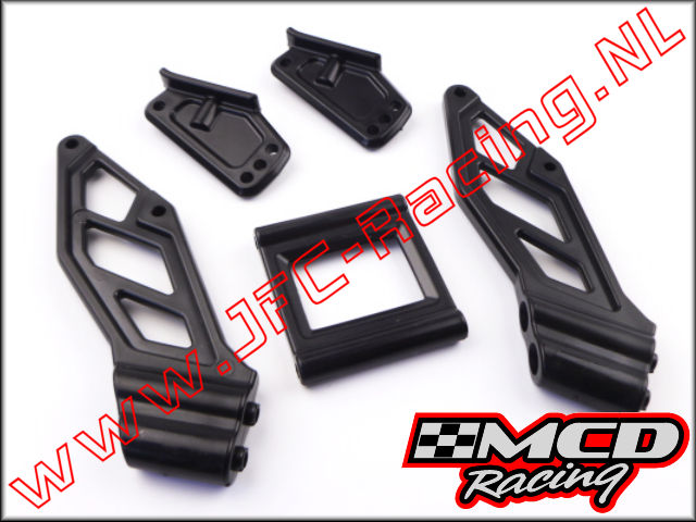M500401P, Buggy Rear Wing Mounts 1pcs.