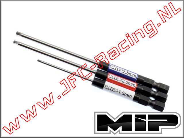MIP 9512, Hex Driver Wrench Set (1,5 / 2,0 / 2,5mm)(Speed Tip™)(MIP) 3pcs.