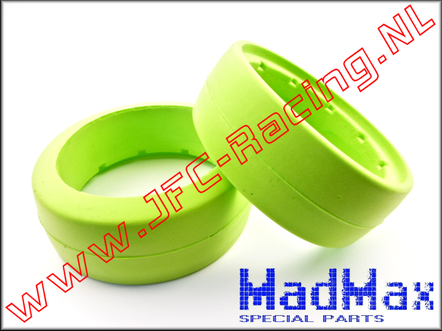 MM 1184, Madmax Inner Foam (Front)(120 x 60mm)(<FONT COLOR=00ff00>Green</FONT>)(MadMax) 2pcs.