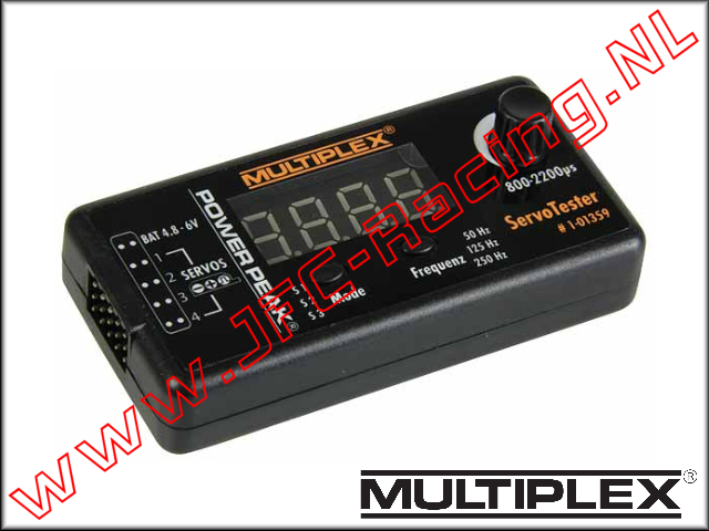 MTP 1-01359, Multiplex Servotester Power Peak 1St.