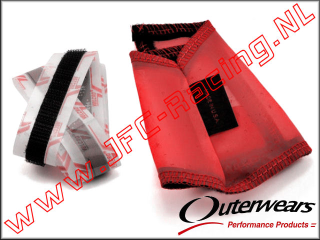 OUT 0164, Outerwears Carter / Vliegwiel  Hoes (<FONT COLOR=ff0000>Rood</FONT>) 1st.