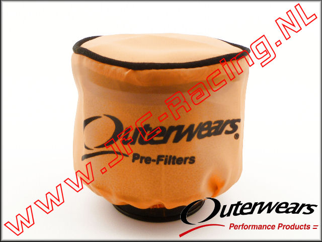OUT 0283, Outerwears Pre-Filter Lucht Filter (<FONT COLOR=ff7301>Orange</FONT>) 1st.