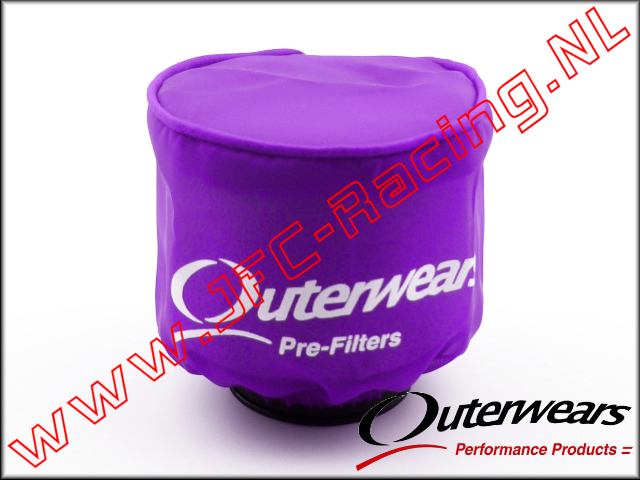 OUT 0286, Outerwears Pre-Filter Air Filter (<FONT COLOR = ff40ff>Purple </FONT>) 1pcs.
