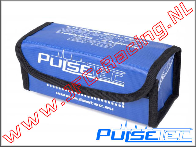 PC-010-002, Lipo Safety Charging Bag (190 x 75 x 80mm)(PulseTec) 1pcs.