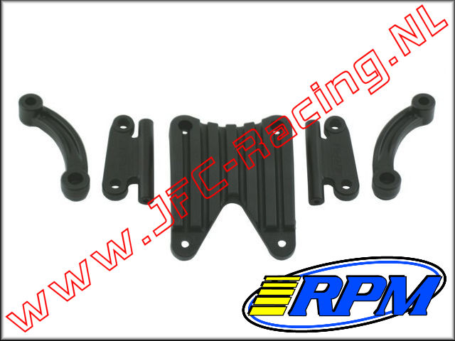 RPM 82312, Rear Bumper Mount & Skid Plate for the HPI Baja 5SC 1st.