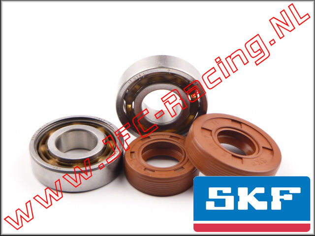 SKF 7305, SKF High Speed Bearings & High Performance Viton Oil Seals set 1pcs.