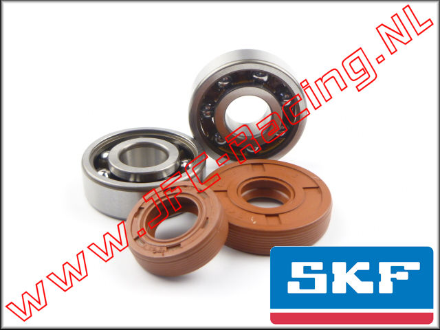 SKF 7505, SKF High Speed Bearings & High Performance Viton Oil Seals set 1pcs.