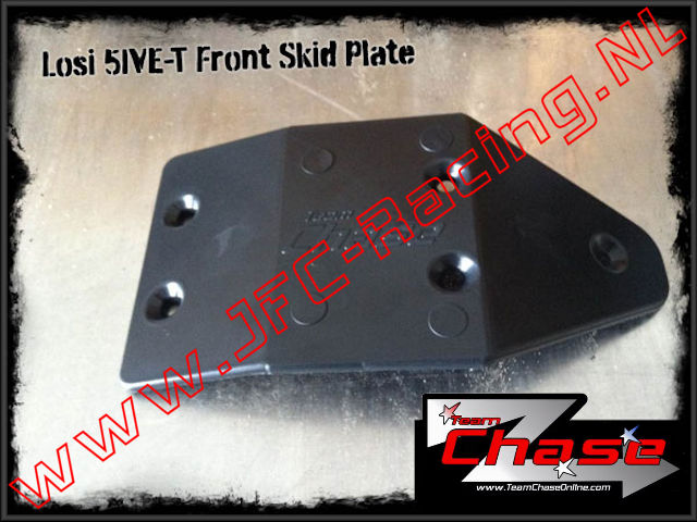 TCH 2725, Team Chase Front Skid Plate (Losi 5ive-T) 1pcs.