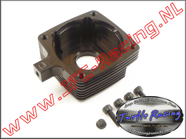 TUR 0008-BK, Clutch Housing (HPI 5B / 5T / 5SC)(Black)(Turtle Racing) 1st.