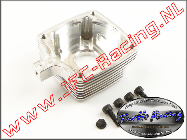 TUR 0008-SI, Clutch Housing (HPI 5B / 5T / 5SC)(<FONT COLOR=808080>Silver</FONT>)(Turtle Racing) 1st.