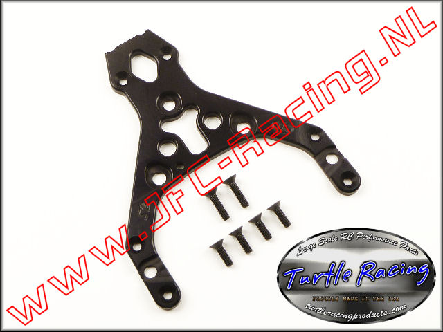 TUR 0009-BK, HD Top Plate (HPI Baja 5B)(Black)(Turtle Racing) 1st.