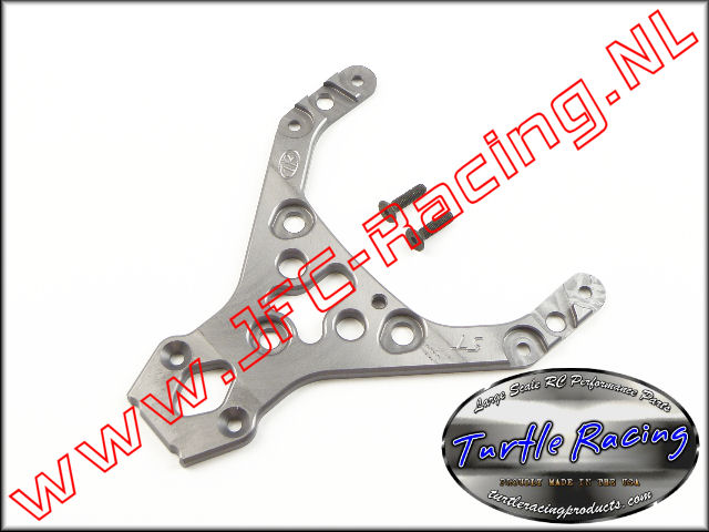 TUR 00014-GM, HD Top Plate (HPI Baja 5T / 5SC)(<FONT COLOR=404040>Gun metal</FONT>)(Turtle Racing) 1st.