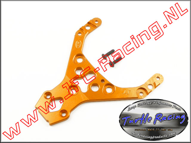 TUR 00014-OR, HD Top Plate (HPI Baja 5T / 5SC)(<FONT COLOR=ff7301>Orange</FONT>)(Turtle Racing) 1st.