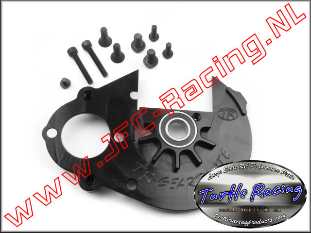 TUR 1102, Gear Plate (HPI Baja 5B / 5T)(Black)(Turtle Racing) 1pcs.