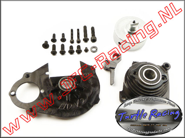TUR V0012-BK, V2 HD Racing Clutch System Hpi Baja (Black)(Turtle Racing) 1st.