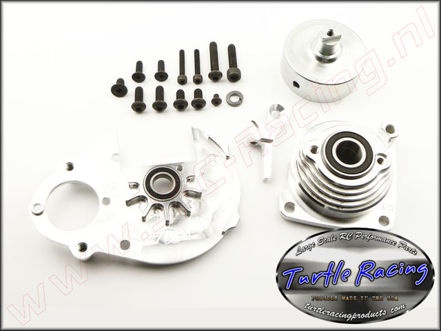 TUR V0012-SI, V2 HD Racing Clutch System Hpi Baja (<FONT COLOR=808080>Silver</FONT>)(Turtle Racing) 1st.