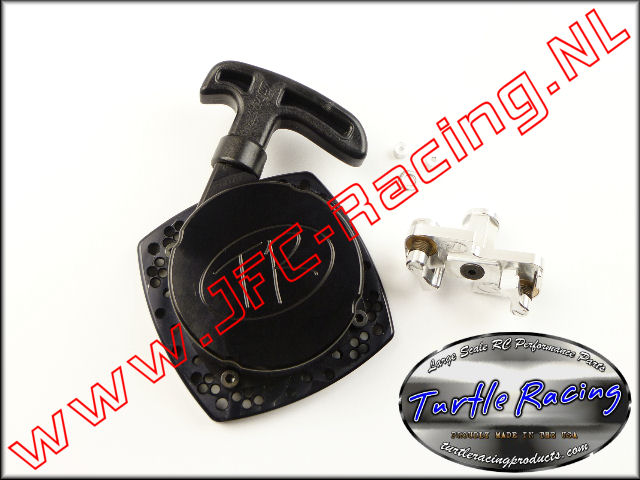 TUR V026-BK, V2 HD Racing Trekstarter (Logo)(Black)(Turtle Racing) 1st.