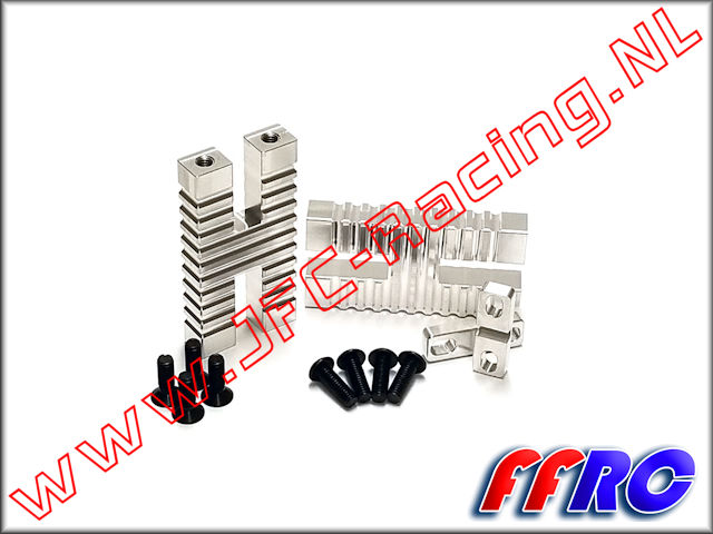 VKT005-V3, FullForce RC V3 Kraken Vekta Steering Servo Mounts 2pcs.