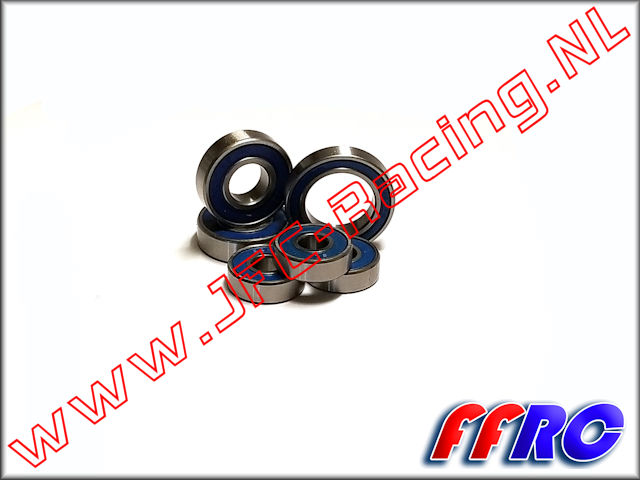 VKT073, FullForce RC Kraken Vekta.5 Transmission Bearings 6pcs.