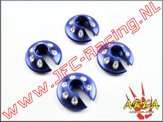 AR-L018-BLUE, Spring Perch For (Losi 5ive-T & Mini WRC)(<FONT COLOR=0000ff>Blue</FONT>)(Area Rc) 1st. <BR>