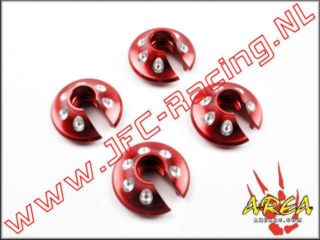 AR-L018-RED, Spring Perch For (Losi 5ive-T & Mini WRC)(<FONT COLOR=ff0000>Red</FONT>)Area Rc) 1st.