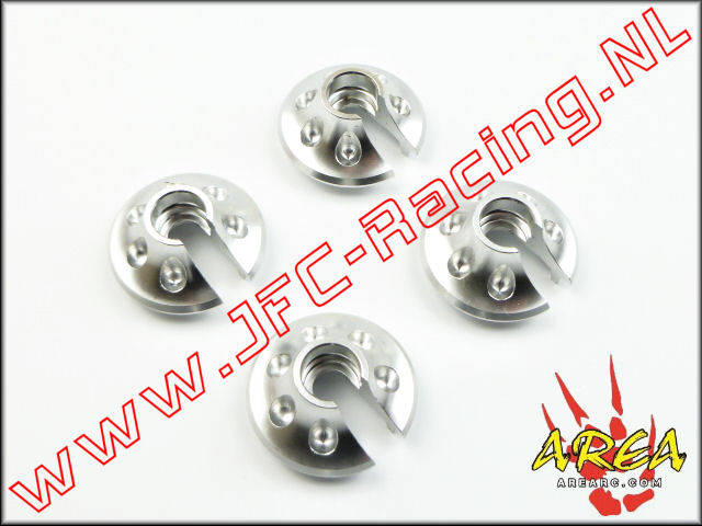 AR-L018-SILVER, Spring Perch For (Losi 5ive-T & Mini WRC)(<FONT COLOR=808080>Silver</FONT>)(Area Rc) 1st.