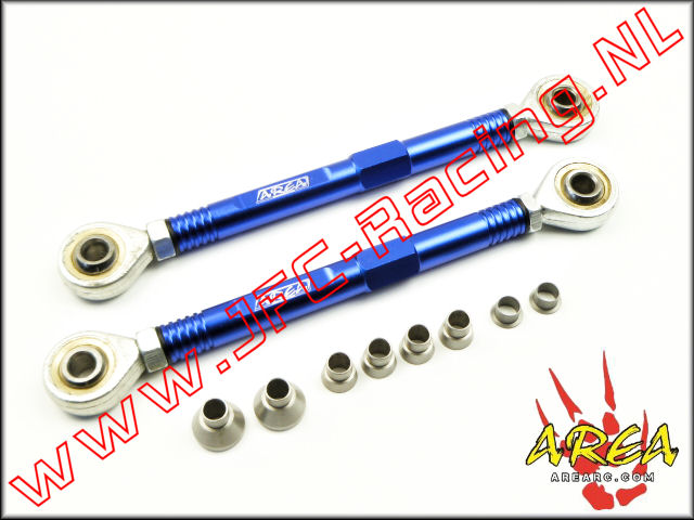 AR-L036-BLUE, Aluminum Pull Rod Front (Losi 5ive-T / Losi 5ive-B / Mini WRC)(<FONT COLOR=0000ff>Blue</FONT>)(Area Rc) 1st.