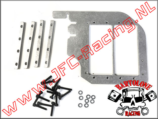 BTL 0296, Bartolone Racing Losi 5ive-T Dual Servo Conversion Tray 1pcs.