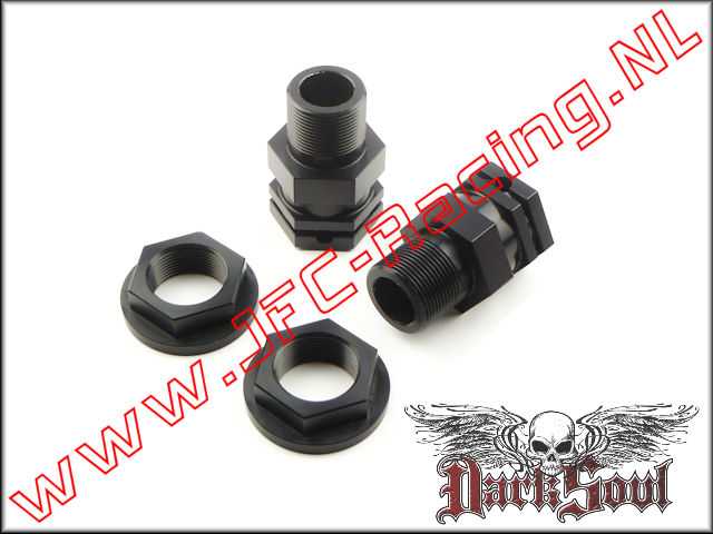 DSR 0002, Axle Extenders rear only (V.2)(HPI 5B/ 5T)(Darksoul Racing) 2st.