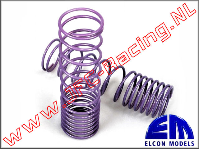 EM 70300-30-2.5, Progressive springs (32mm)(110mm)(2,5)(<FONT COLOR=ff40ff>Purple</FONT>) 2st.