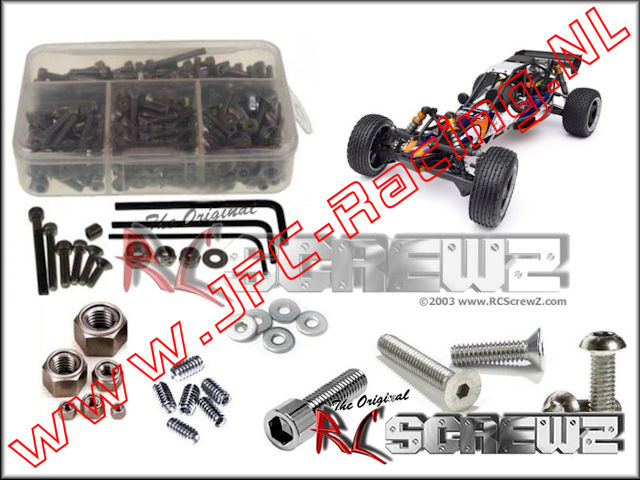 HPI 043, HPI Baja SS Stainless Steel Screw Kit (RC Screwz) 1pcs