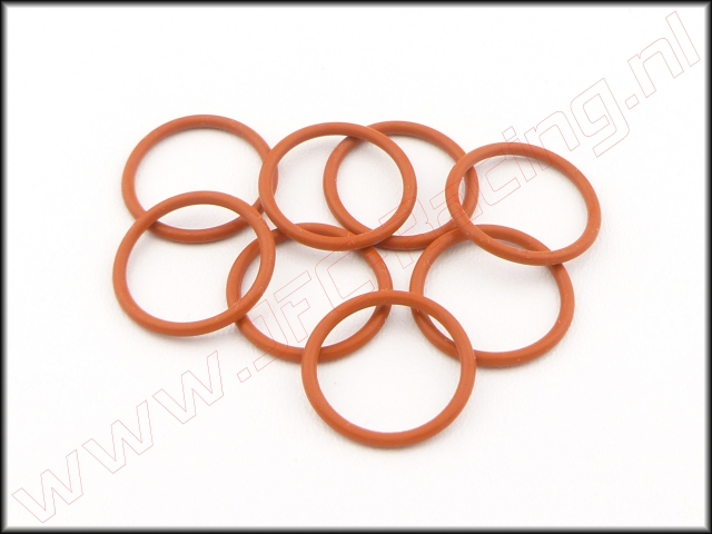 HPI 75071, O-ringen (<FONT COLOR=ff7301>Orange</FONT>)(15 x 1.5mm) 8st.
