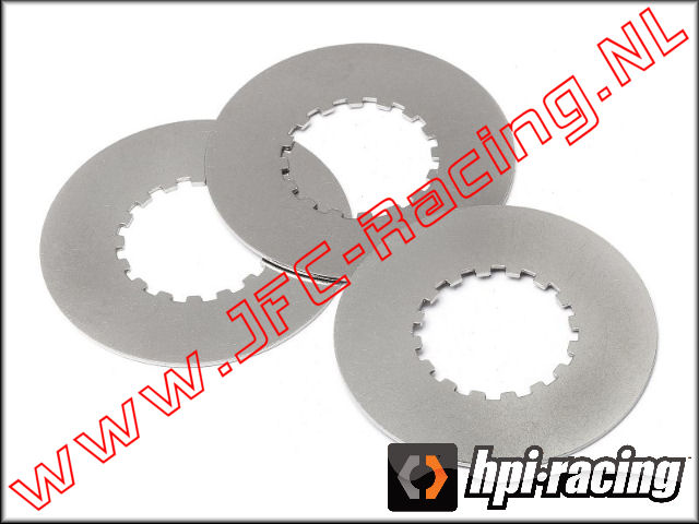HPI 87577, Slipper Plate B (Steel) 3pcs.