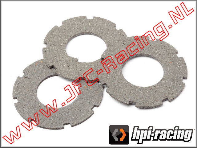 HPI 87578, Slipper Pad A 3pcs.