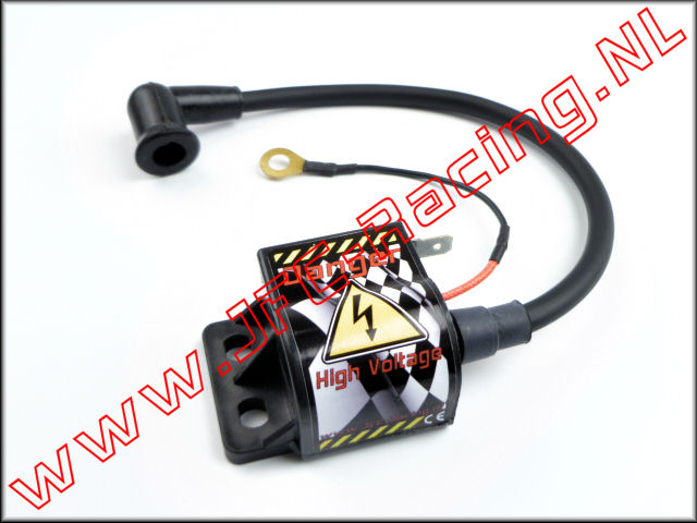 JFC 1250/7, High Voltage Spoel MK2 (150mm)(External ®ace Ignition) 1st.