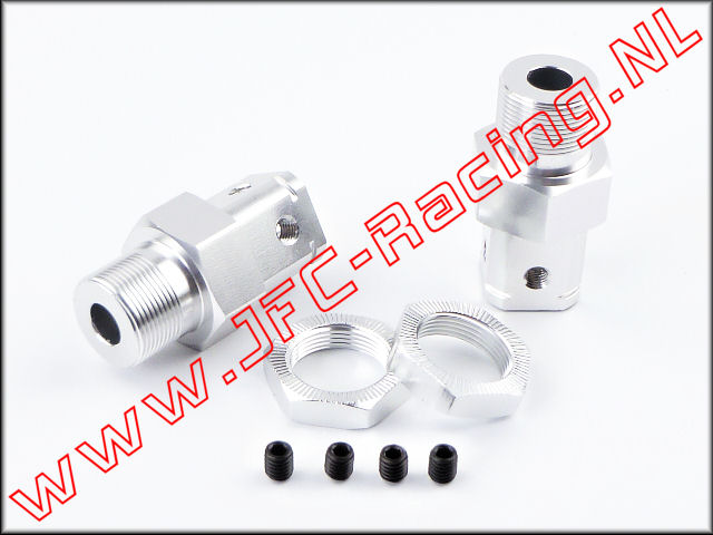JFC 1256, Wheel Adapters (FG - Hex 24mm) 2st.