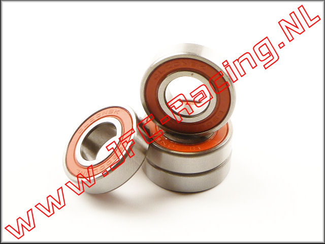 JFC 257001, Differentieel pinion lager (10 x 22 x 6mm)(Losi Desert Buggy XL)(LOS257001) 4st.