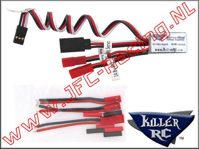 KIL 0209, Servo Max Voltage Regulator for Losi/Hitec HS-1000SGT System 1st.