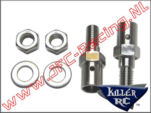 KIL 0411, Roll Gage Riser's (Taller Battery Box)(HPI Baja) 2st.