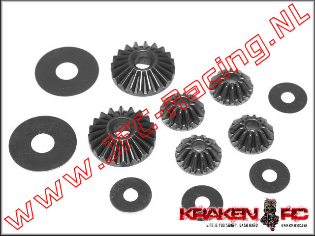 KV2239, VEKTA.5 Internal Diff Gears and Shims 1set.
