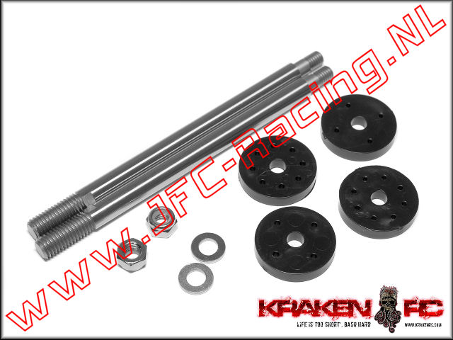KV2244, VEKTA.5 Rear Shock Shaft and Piston 1set,