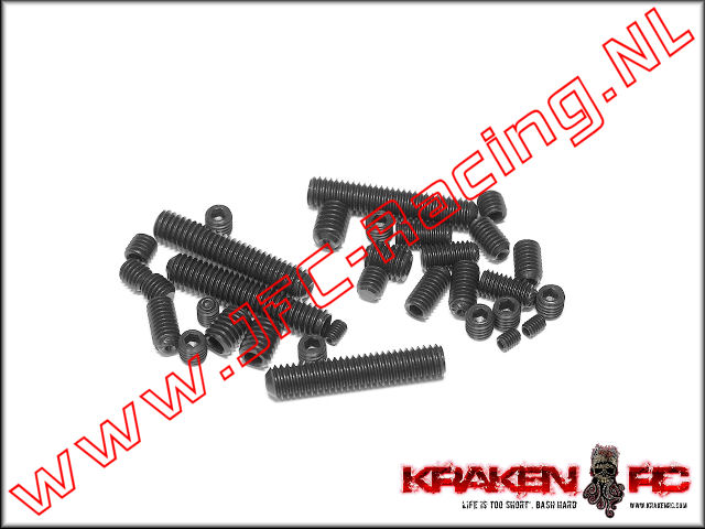KV9906, VEKTA.5 Set Screws M3, M4, M5, and M6 Set,