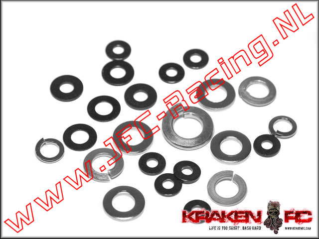 KV9907, VEKTA. 5 Flat Washer Set.