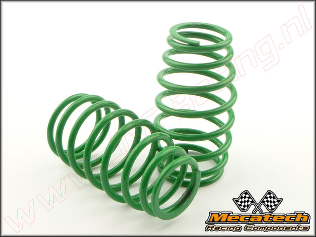 MEC 2009/00, Mecatech Klick Shock Spring (2,4 mm)(<FONT COLOR=00ff00>Green</FONT>) 2st.