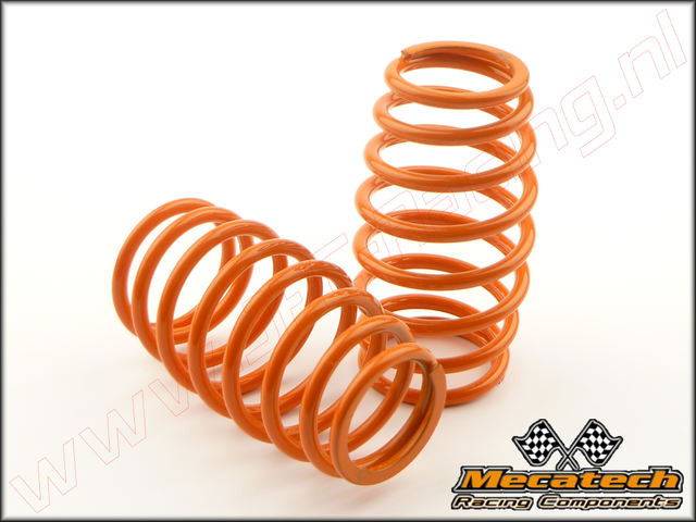 MEC 2009/01, Mecatech Klick Shock Spring (2,5 mm)(<FONT COLOR=ff7301>Orange</FONT>) 2st.