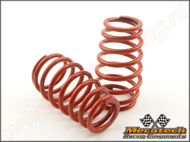 MEC 2009/03, Mecatech Klick Shock Spring (2,7 mm)(<FONT COLOR=ff0000>Red</FONT>) 2st.