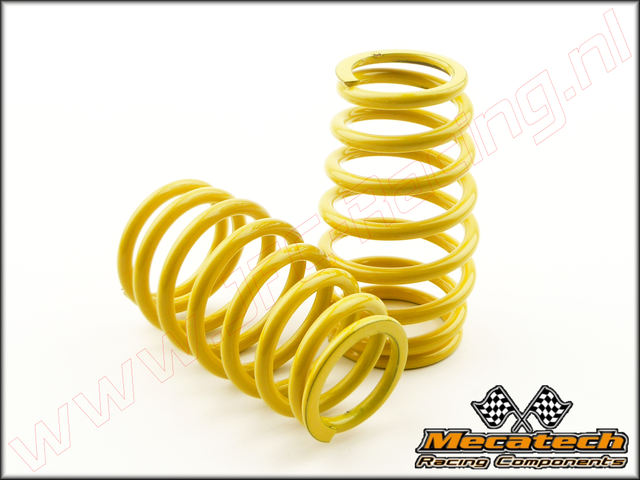 MEC 2009/04, Mecatech Klick Shock Spring (2,8 mm)(<FONT COLOR=ffff00>Yellow</FONT>) 2st.